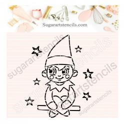 Christmas Elf PYO cookie...