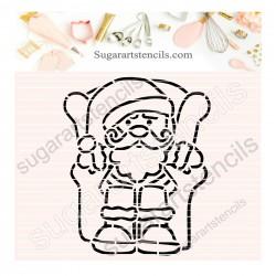 Santa Christmas PYO cookie...