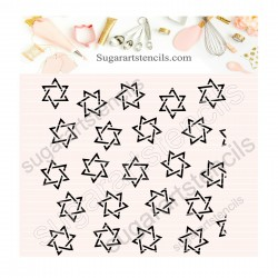Star of David pattern...