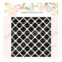 Lattice pattern background...