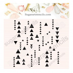 Arrows pattern background...