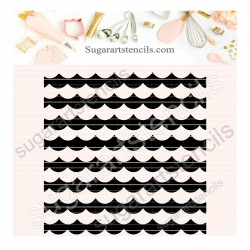 Scales Background pattern...