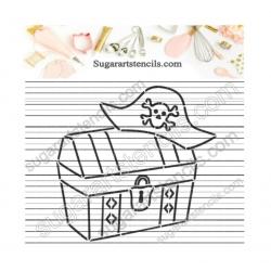 Treasure chest pirate PYO...