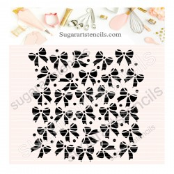 Bows Background pattern...