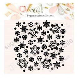 Snowflakes Background...