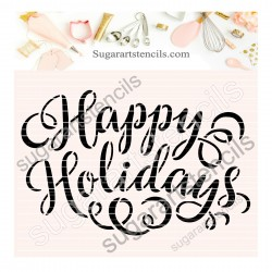 Happy Holidays cookie...