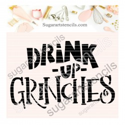 Drink up Grinches face...