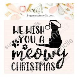 Meowy Christmas cookie...