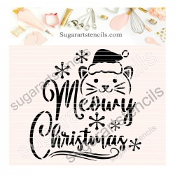 Meowy Christmas cookie...