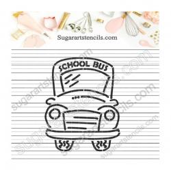 School bus PYO Cookie...