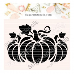 Pumpkins cookie stencil...