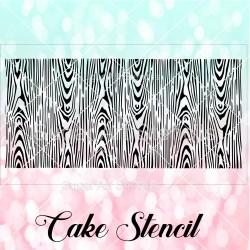 Woodgrain pattern cake...