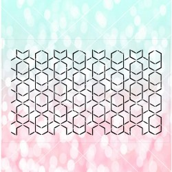 Geometric lattice cake...