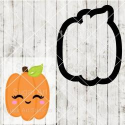 Halloween pumpkin cookie...