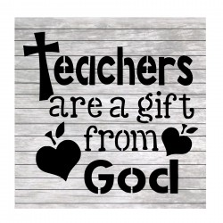 Teacher words painting...