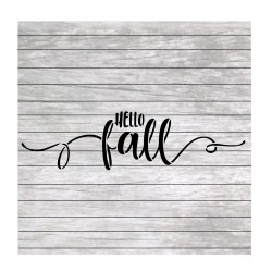 Hello Fall painting stencil...