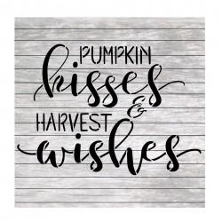Pumpkin kisses harvest...