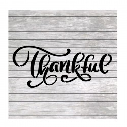 Thankful painting stencil...