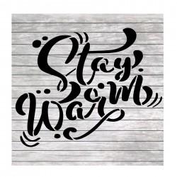 Winter words Stay warm...