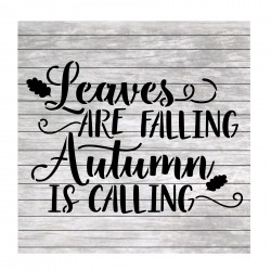 Fall words painting stencil...