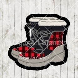 Winter boots cookie cutter...