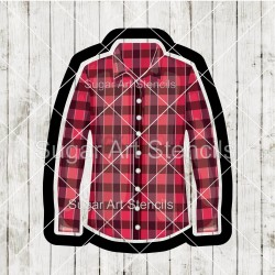 Flannel shirt cookie cutter...