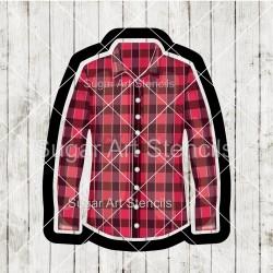 Flannel shirt cookie cutter...