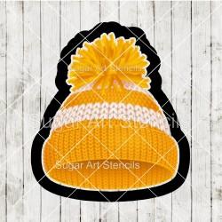 Winter hat cookie cutter CN66