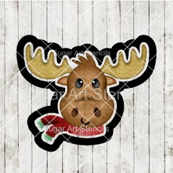 Moose cookie cutter CN69