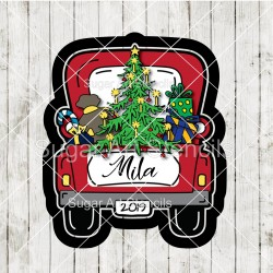 Christmas Vintage truck...