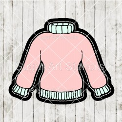 Cozy sweater cookie cutter...