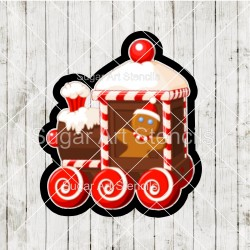 Christmas train cookie...