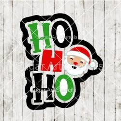 Ho Ho Ho Santa cookie...