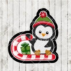 Penguin cookie cutter CN82