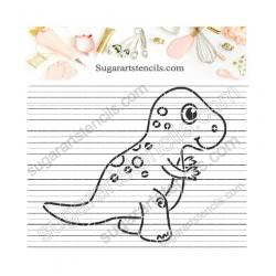 Baby Dinosaur tyrannosaurus...