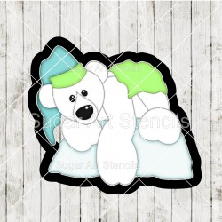 Polar bear cookie cutter CN104