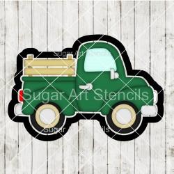 Vintage truck cookie cutter...