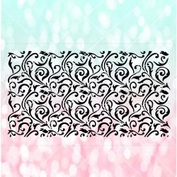 Swirls cake stencil SL18