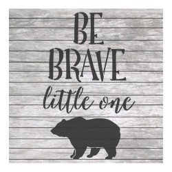 Be brave little one...