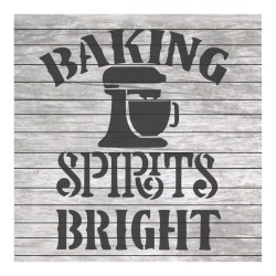 Baking spirits bright...