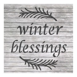 Winter blessings painting...
