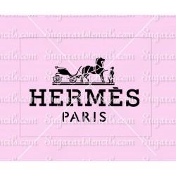 Hermes Designers cake...