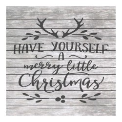 Christmas words painting...