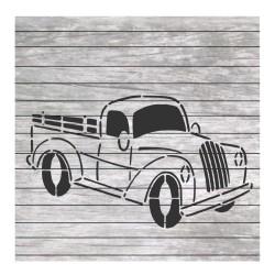 Vintage truck painting...