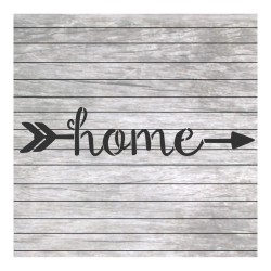 Home word painting stencil...