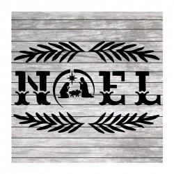 Noel painting stencil MM014
