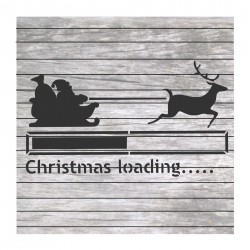 Christmas loading painting...