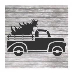 Vintage Christmas truck...