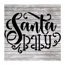 Santa baby Christmas...