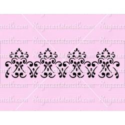 Fancy cake stencil SL20235